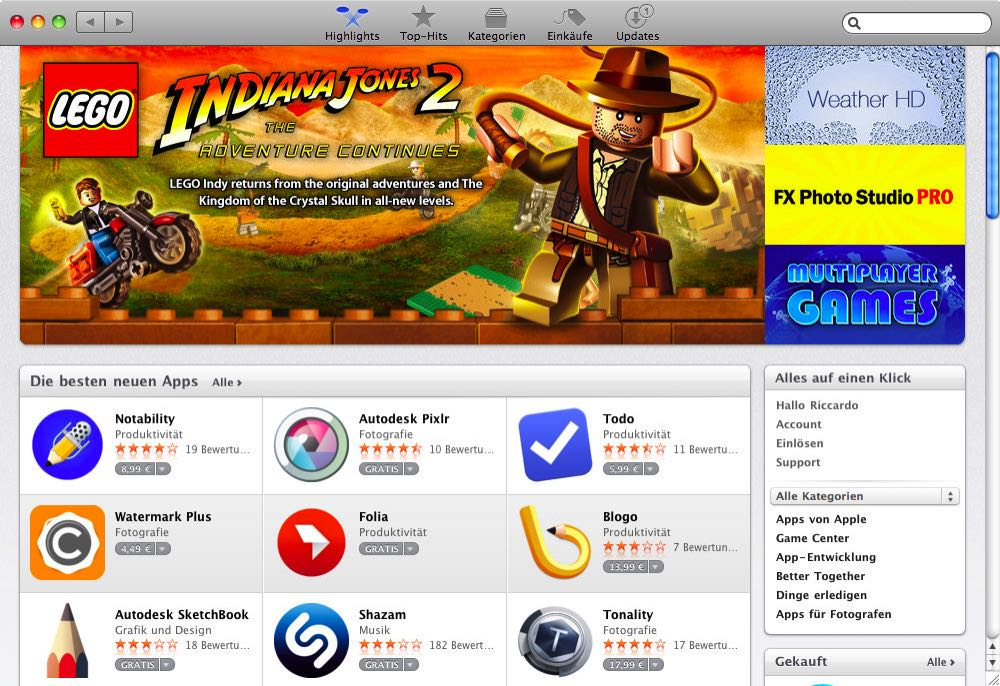 Mac App Store Highlights