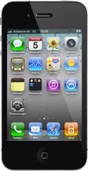 iPhone 4 Front schwarz